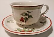 Villeroy And Boch Joy Noel Fine China Tea Cup And Saucer