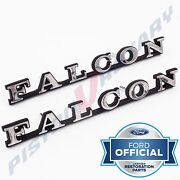 Falcon Guard Or Boot Badges X2 New For Ford Xa Xb Xc Trunk Fender Tailgate Gs
