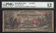 Very Rare 1875 5 B Springfield Ohio Ch 2098 This Is The Only One On Census