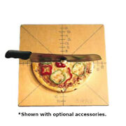 American Metalcraft Mpcut4 Wood Pizza Slice Cutting Board And Guide Case Of 6