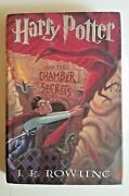 Harry Potter And The Chamber Of Secrets 2 1st Edition 1999 Spelling Error