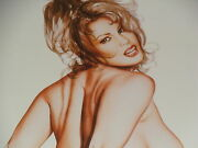 Olivia De Berardinis Limited Edition Signed And Numbered Sandra Taylor Study
