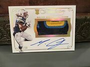 Panini Flawless Gold On Card Autograph Jersey Chargers Melvin Gordon 07/10 2015
