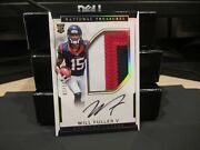 National Treasures Rookie Autograph Jersey Texans Will Fuller V 07/10 2016