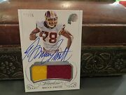 Panini Flawless On Card Autograph Jersey Redskins Bills Bruce Smith 15/25  2015