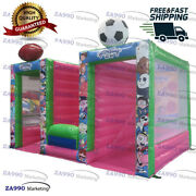 16x10ft Commercial Inflatable 3 In 1 Carnival Toss Sport Game With Air Blower