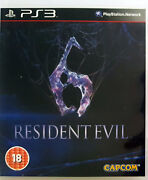 Resident Evil 6 Ps3 Sony Playstation 3 Best Action Adventure Horror Shooter Game