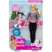 Barbie Careers Ice-skating Coach Doll And Playset