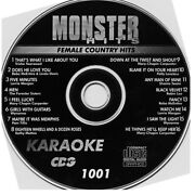 Karaoke Monter Hits Cdg 159 New Disc Set Countryrockclassicpopw/song Book
