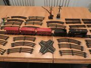 Vintage American Flyer Electric Train 45 Piece Set Pre War With Tracks As Is