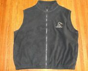 Ducks Unlimited By White Water Outdoors Black Fleece Vest Menand039s Xl