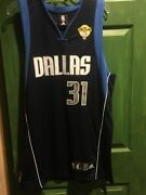 Adidas Dallas Mavericks Jason Terry Size 40 With The Finals Patch