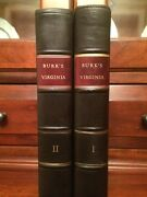 Rare 1805 History Of Virginia From First Settlement To Present Day Burk 1st Ed