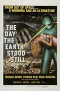 The Day The Earth Stood Still Poster//the Day The Earth Stood Still Movie Poste
