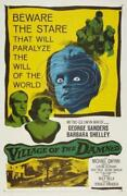 Village Of The Damned Poster//village Of The Damned Movie Poster//movie Poster//