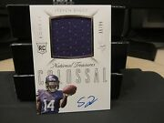 National Treasures Rookie Autograph Jersey Vikings Stefon Diggs 35/99 2015