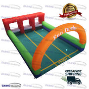23x16ft Inflatable Hop Horse Derby Race Sport With Air Blower