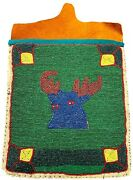 Antique Native American Beaded Bag Northern Plains