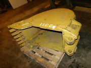 Used Large 24 Excavator Trenching Bucket With 7 Teeth Heavy Video Link