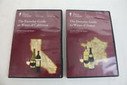 National Geographic Everyday Guide To Wines France 9176 And California 9162 Dvds