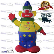 13ft Inflatable Clown Cartoon Character Advertising Promotion With Air Blower