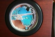 2014 5 Oz The Land Down Under Great Barrier Reef 5oz 40/400 Silver Coin