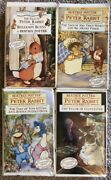 4 Vhs Lot Beatrix Potter The World Of Peter Rabbit And Friends Collectors Edition