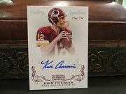 National Treasures Autograph Redskins Auto Kirk Cousins 1/1 One Of One 2013