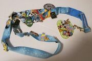 Lot Of 15 Disney Trading Pins 7 Pluto On Lanyard With 2007 Pin Trading Clip