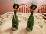 St. Patrick's Collectible Figurines-my Pots Of Gold. Pre-owned. Excellent Con