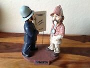 Pinkerton 25th Edition Annual Figurine Police And Sherlock Holmes Statue