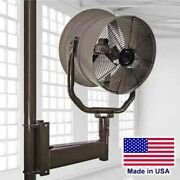24 Post Mounted Fan - 5600 Cfm - 230/460 Volts - 3 Phase - 1/2 Hp - Commercial
