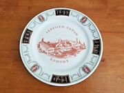 Vintage Lamberton Scammell China Ivory Greek Plate 9.5 Ultra Rare Excellent Con