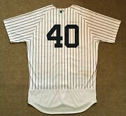 Luis Severino Mlb Holo Steiner Sports Game Used Jersey 2018 Win New York Yankees