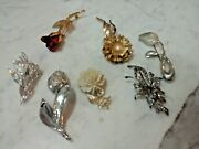 Antique Vintage Lot Brooch Pin Pendant Private Collection Alice Caviness, Etc.