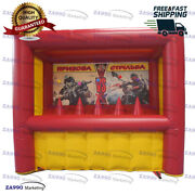 10x5ft Inflatable Shooting Archery Target Sport Game With Air Blower