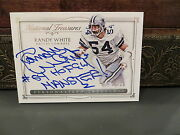 National Treasures Personalized On Card Autograph Cowboys Randy White 24/25 2015