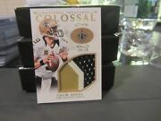 National Treasures Colossal Game Used Jersey Saints Drew Brees 04/10 2016