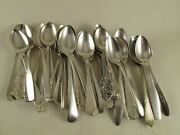 100 Demitasse Spoons Coffee Tea Mix Vtg Silverplate Polished Crafting Lot
