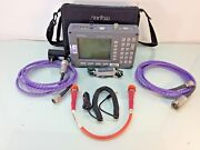 Anritsu Sitemaster S113b Cable Antenna Spectrum Analyzer W/ Phase Cables And Icn50