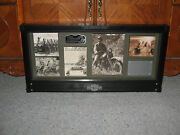 Harley Davidson Motorcycles Model 1942 Wla 2010 Military Archive Shadowbox Wwii