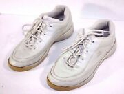Womenand039s Easy Spirit Anti-gravity White Walking Working Athletic Shoes Size 6 M