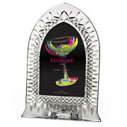 Waterford Lismore Crystal Commemorative Window Picture Frame -new Boxed