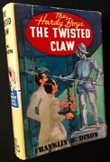 Franklin W Dixon / The Hardy Boys The Twisted Claw First Edition 1939