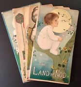 Anna Lauer Margaret Evans / 5 Children's Titles From The Stecher Lithography