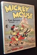 The Staff Of The Walt Disney / Mickey Mouse In King Arthurand039s Court 1st Ed 1933