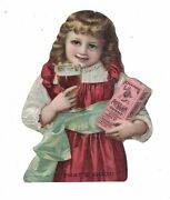 Knapps' Root Beer Extract Die Cut Victorian Trade Card