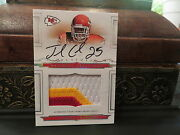 National Treasures Rookie Jersey Autograph Chiefs Jamaal Charles 59/99 2008