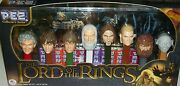 The Lord Of Rings Collector Pez Dispensers Bilbo Frodo Gandalf Hobbit Xmas Gift
