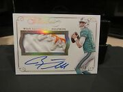 Panini Flawless Gold On Card Autograph Jersey Dolphins Ryan Tannehill 08/10 2015